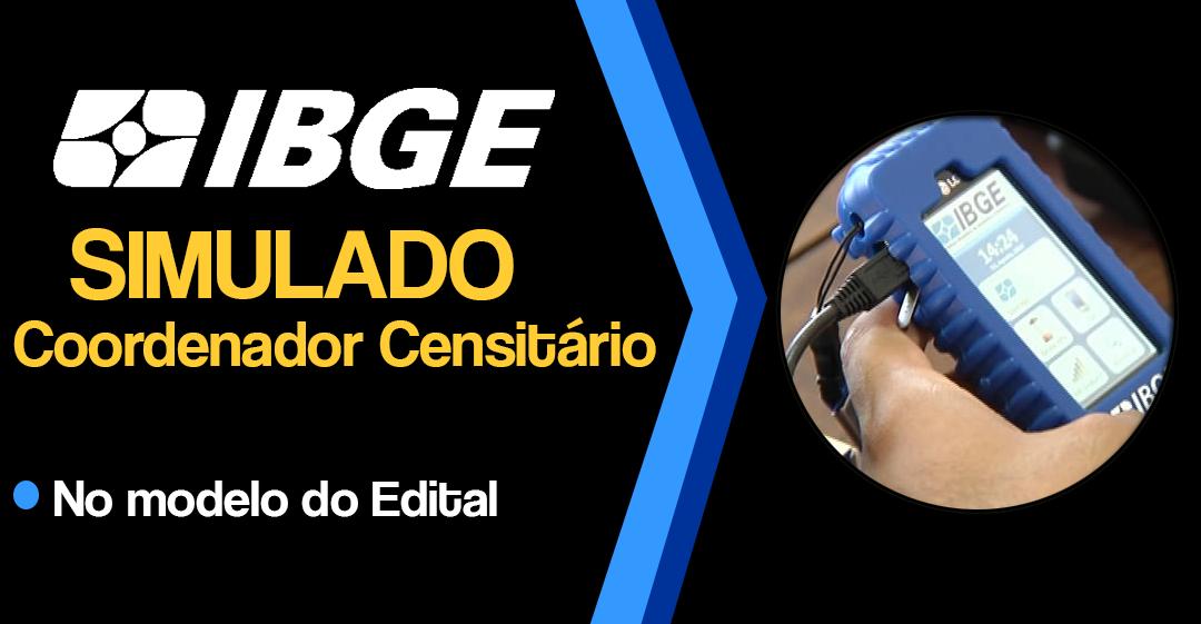 IBGE COORDENADOR CENSITÁRIO