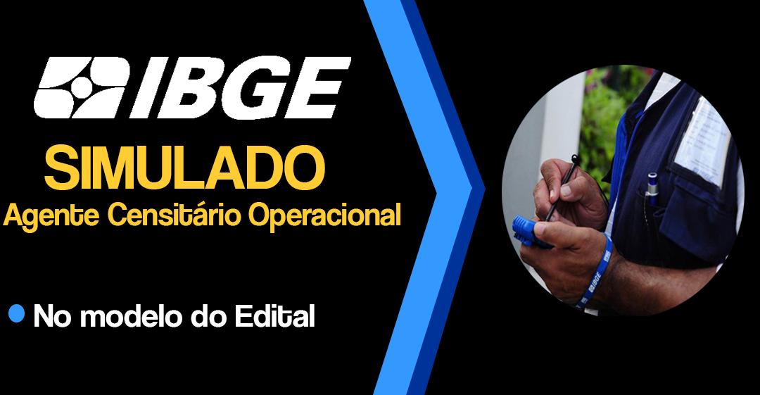 IBGE AGENTE CENSITÁRIO